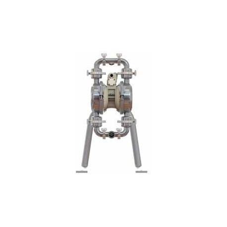 """1 1/2""""-os fém karimás higiéniai levegőműködtetésű membránszivattyú E4"""