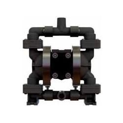 """1/4""""-os nem-fém karimás pneumatikus membránszivattyú ATEX kivitel E6"""