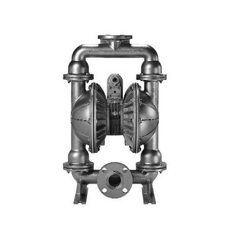 """2""""-os fém levegőműködtetésű membránszivattyú ATEX kivitel, Saválló acél E2"""