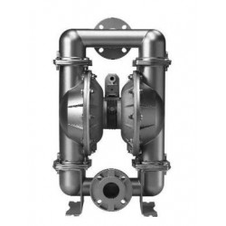 """3""""-os fém levegőműködtetésű membránszivattyú ATEX kivitel - Saválló acél"""